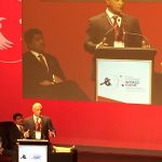 This Minister made the audience cry with his rallying welcome and scene setting speech at SEWF17